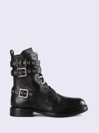 D-KOMB BOOT STRAP CB, Black