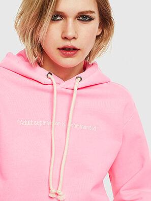 S-GIRK-HOOD-FLUO, Pink - Sweaters