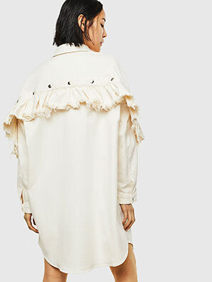 D-BABOL JOGGJEANS, White - Dresses