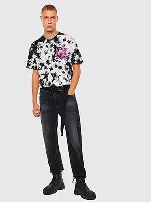 T-JUST-J23, Black/White - T-Shirts