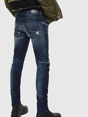 Sleenker 0097P, Dark Blue - Jeans