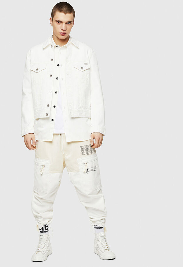 D-BRAY, White - Denim Jackets