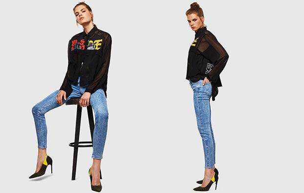 Gracey JoggJeans 0870P, Light Blue - Jeans