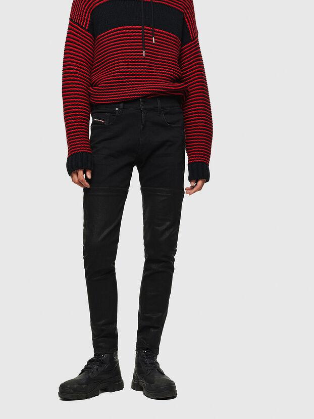 D-Strukt 0091W, Black/Dark grey - Jeans