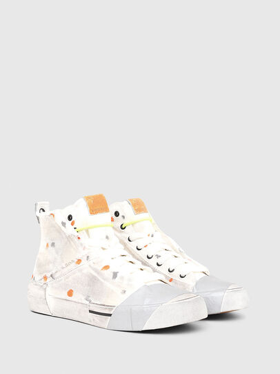 Diesel - S-DESE SCT, White/Orange - Sneakers - Image 2