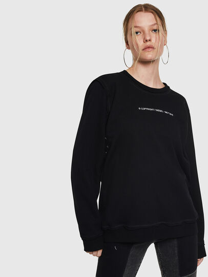 Diesel - F-LYANY-F, Black - Sweaters - Image 1