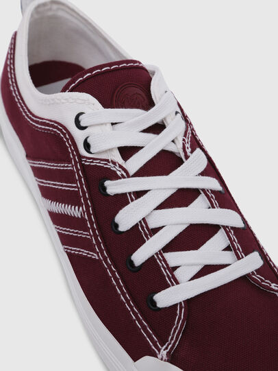 Diesel - S-ASTICO LOW LACE, Burgundy - Sneakers - Image 4