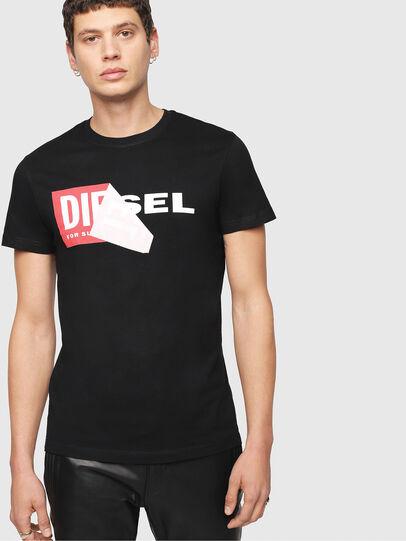 Diesel - T-DIEGO-QA, Black - T-Shirts - Image 1