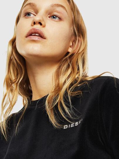 Diesel - UFLT-JEANNE, Black - Sweaters - Image 3
