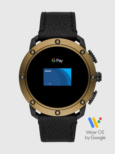 Diesel - DT2016, Black/Gold - Smartwatches - Image 6