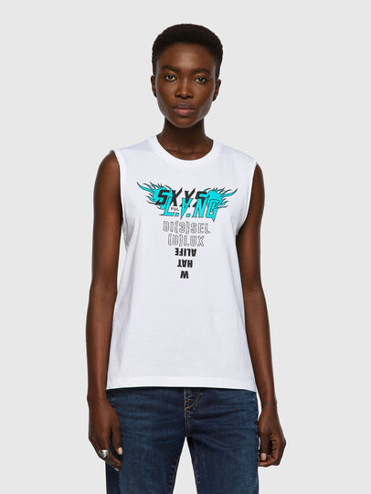 Diesel - T-SILESS, White - T-Shirts - Image 1