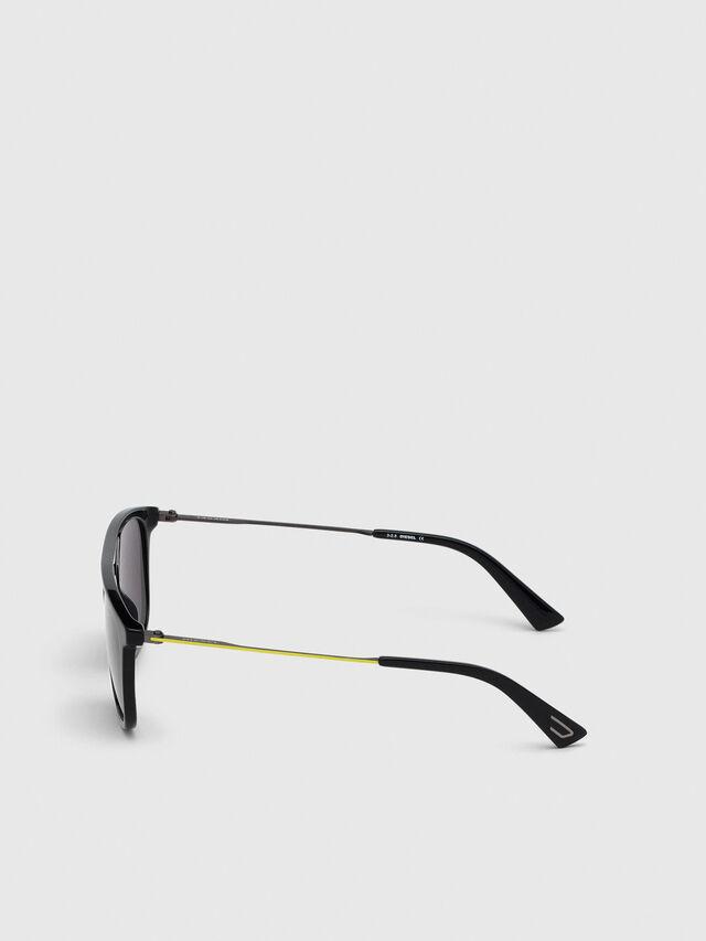 Diesel - DL0297, Black/Yellow - Sunglasses - Image 3