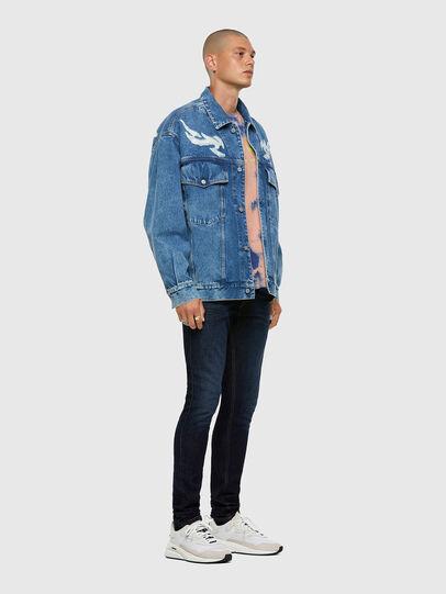 Diesel - D-Luster 009EQ, Dark Blue - Jeans - Image 5