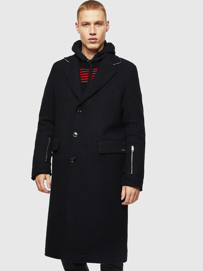 Diesel - W-BOGART, Black - Winter Jackets - Image 1