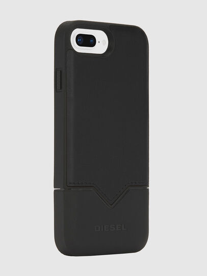 Diesel - CREDIT CARD IPHONE 8 PLUS/7 PLUS/6S PLUS/6 PLUS CASE, Black - Cases - Image 4