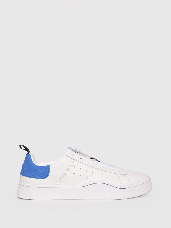 S-CLEVER LOW, White/Blue - Sneakers