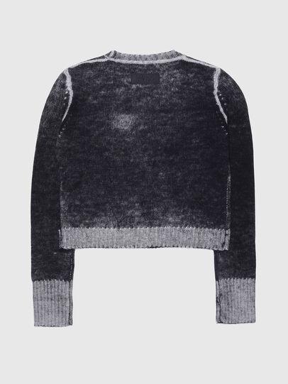 Diesel - KBUSTY, Black/Grey - Knitwear - Image 2