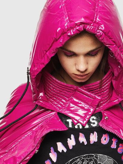 Diesel - W-ALLA, Pink Fluo - Winter Jackets - Image 3