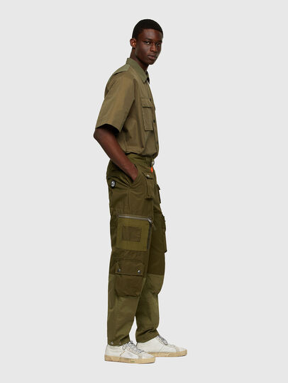 Diesel - P-CYAN, Military Green - Pants - Image 7