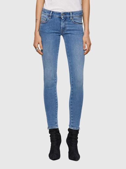 Diesel - Slandy Low 009ZY, Light Blue - Jeans - Image 1