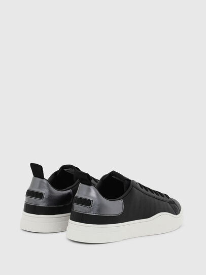 Diesel - S-CLEVER LOW LACE, Black/Silver - Sneakers - Image 3