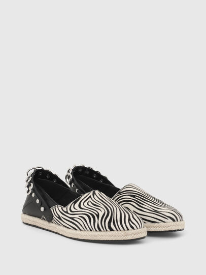 Diesel - S-LIMA W, Black/White - Flats - Image 2
