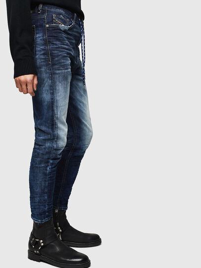 Diesel - D-Vider JoggJeans 069KD, Dark Blue - Jeans - Image 5