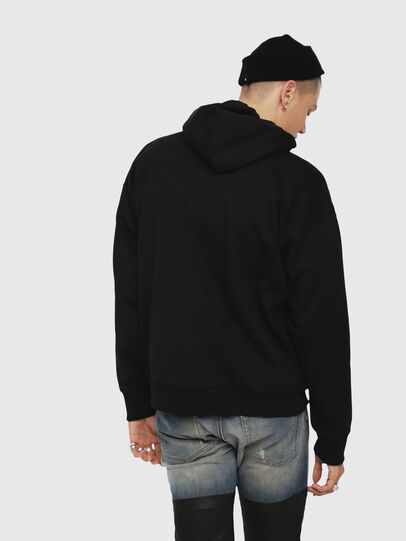 Diesel - S-DIVISION, Black - Sweaters - Image 2