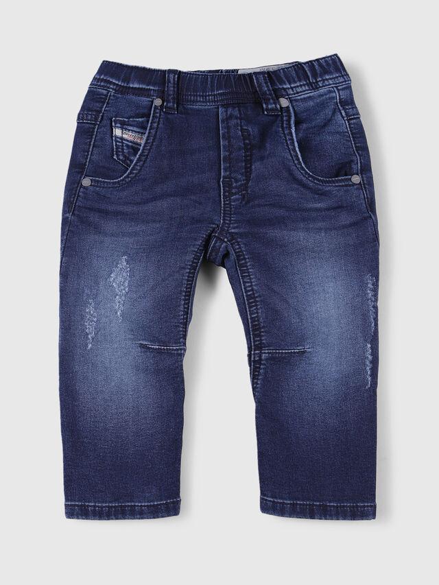 Diesel - FAYZA B JOGGJEANS-N, Dark Blue - Jeans - Image 1