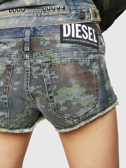 Diesel - DE-MARLEN, Medium blue - Shorts - Image 4
