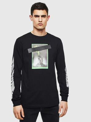 T-JUST-LS-T13, Black - T-Shirts