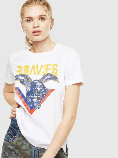 Diesel - T-SILY-WP, White - T-Shirts - Image 1