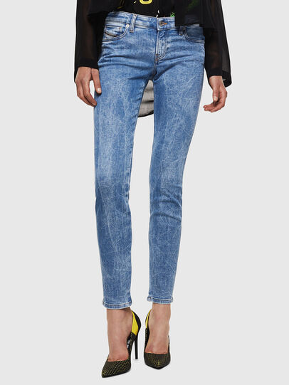 Diesel - Gracey JoggJeans 0870P, Light Blue - Jeans - Image 1