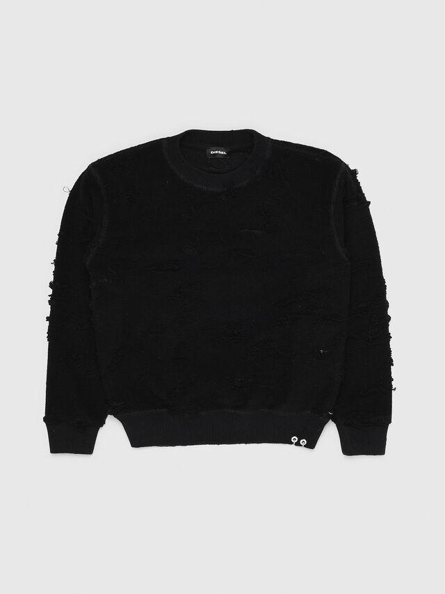 Diesel - SFELIPA, Black - Sweaters - Image 1