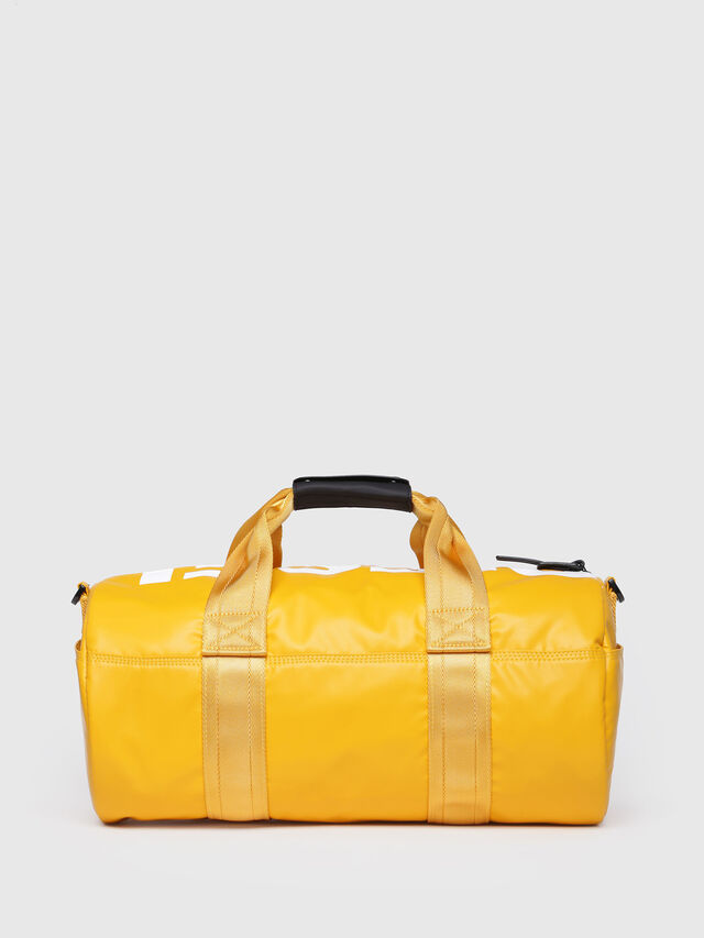 Diesel - F-BOLD DUFFLE FL, Yellow Ocher - Travel Bags - Image 2