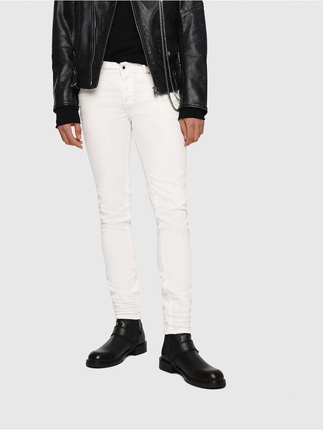 Diesel - Sleenker 084CY, White - Jeans - Image 1
