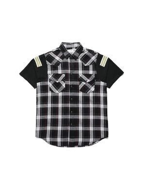 D-WESTERNSPORT-C, Black/Yellow - Shirts