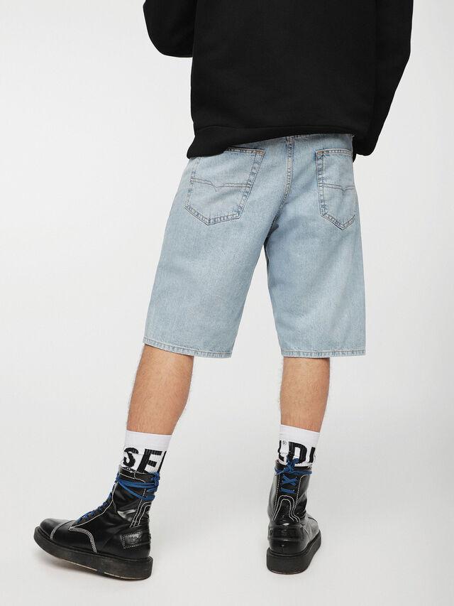 Diesel - KEESHORT, Light Blue - Shorts - Image 2