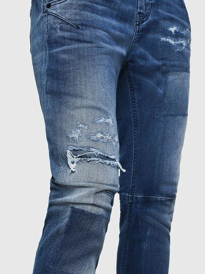 Diesel - Fayza JoggJeans 069HB, Medium blue - Jeans - Image 5