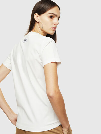 Diesel - T-SILY-YC, White - T-Shirts - Image 2