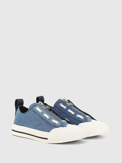 Diesel - S-ASTICO LZIP W, Blue - Sneakers - Image 2
