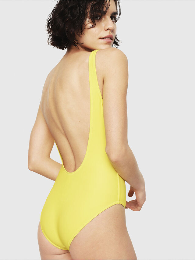 Diesel - BFSW-FLAMNEW, Yellow - Swimsuits - Image 2