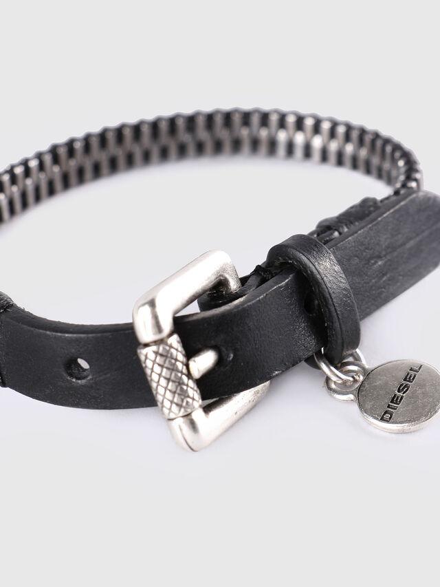 Diesel - A-ZIPPER, Black/Silver - Bijoux and Gadgets - Image 2