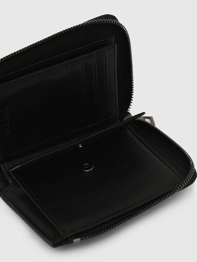 Diesel - L-12 ZIP, Black/Blue - Small Wallets - Image 6