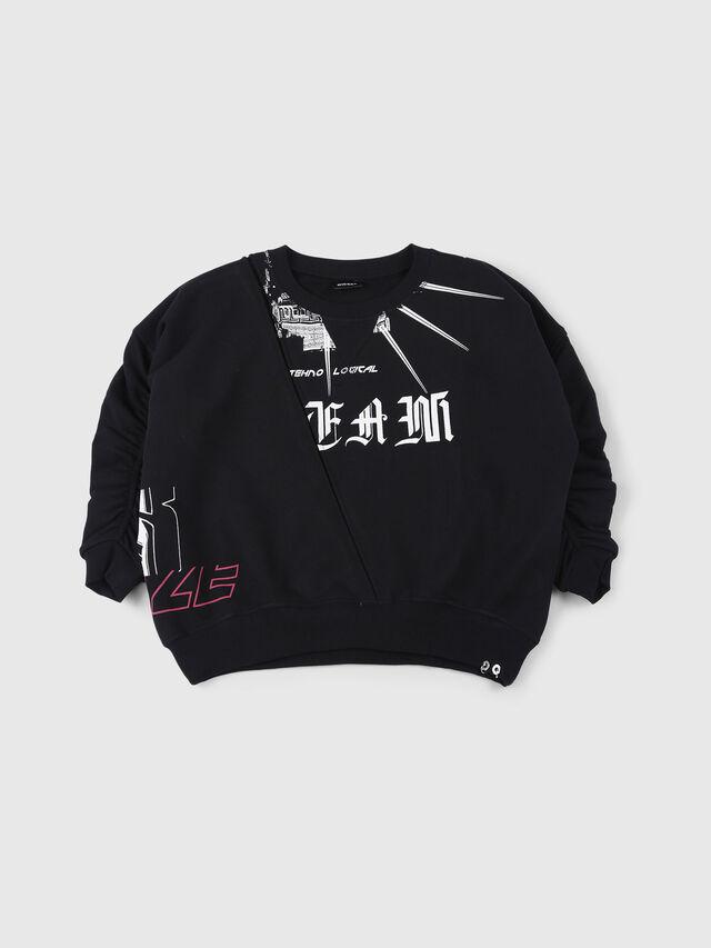 Diesel - SFRIA, Black - Sweaters - Image 1