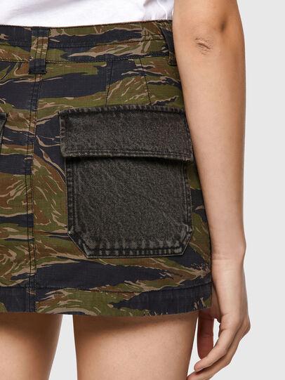 Diesel - O-IRAIDA-CMF, Military Green - Skirts - Image 4
