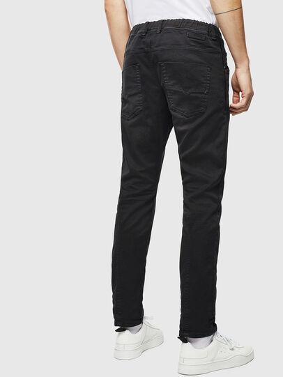 Diesel - Krooley JoggJeans 0670M, Black/Dark grey - Jeans - Image 2