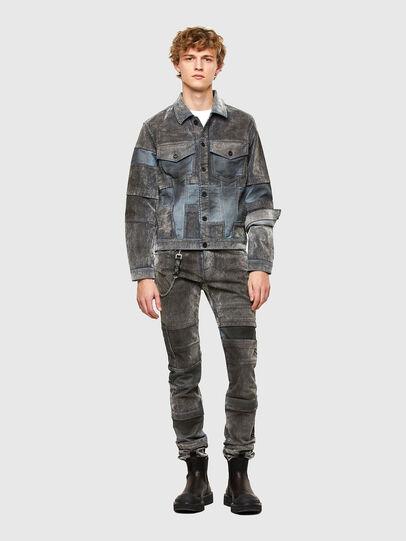 Diesel - JHILL, Grey - Jackets - Image 6