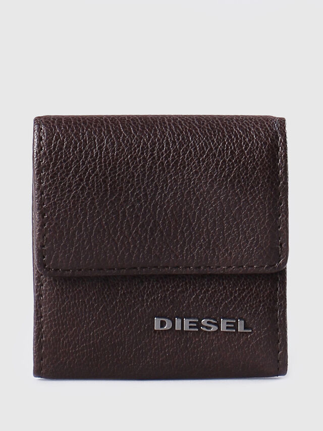 Diesel - KOPPER, Dark Brown - Small Wallets - Image 1
