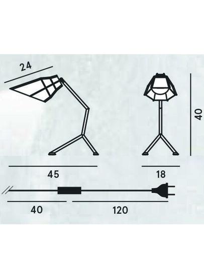 Diesel - PETT TAVOLO,  - Table Lighting - Image 2